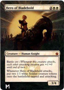 Hero of Bladehold, altered(extended) artwork by Phil-Monk