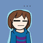 Frisk is not amused by Aragongal