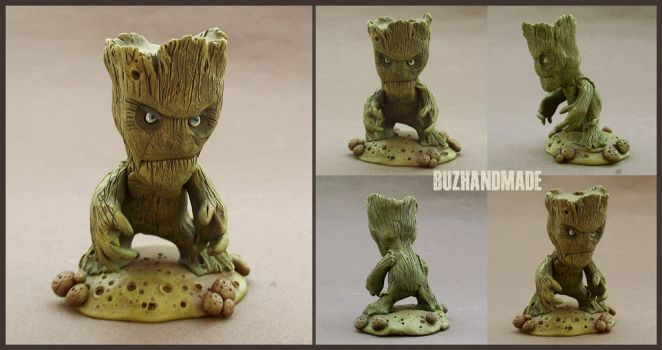 Guardians of the Galaxy - GROOT SD by buzhandmade