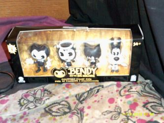 Bendy and the ink machine figure pack by BlueRosePetalsQueen