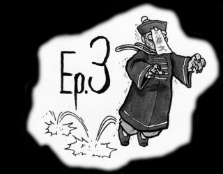 Saeki House ep3: Mr. Vampire and Rigor Mortis by SnailShoes