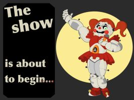 Cirscus baby's Show by Spectral-Beanie
