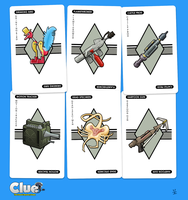 ALIEN Clue (Item Cards) by ivewhiz