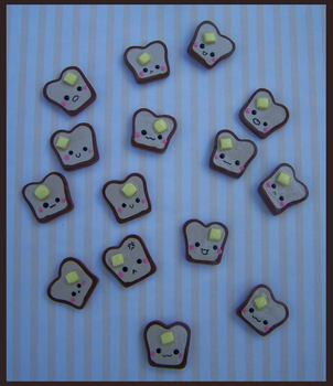 Bread and Butter Charms by LastStringOfLovely