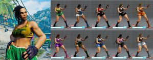 SF5 MMA Laura Mod by SleepingMaster