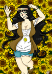 Sunflowers Revisited by Kittysan101