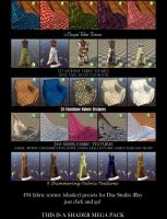 Textile Shaders for Daz Studio iRay Maps Pt. 4 by BohemianHarlot