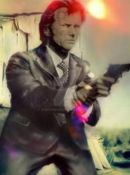 CLINT EASTWOOD DIRTY HARRY VARIANT by BUMCHEEKS2