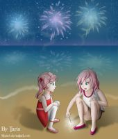 FFXIII Claire and Serah by 9Taria6