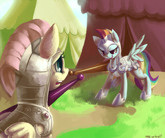 Jousting by Mewball