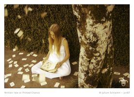 Written Fate or Printed Chance by julium