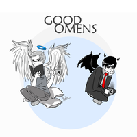 Good Omens by tangerine-skye