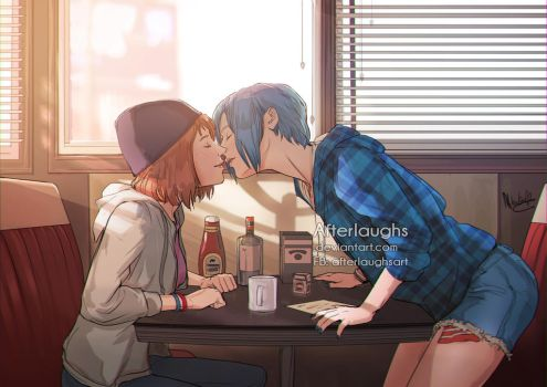 Breakfast at Two Whales by Afterlaughs