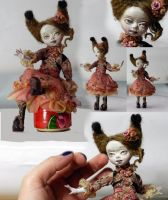 Betty Ooak sculpted doll from Ladoll clay ) by Shanti-Dragon