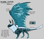 Batwing Dragon Auction by Chalybis