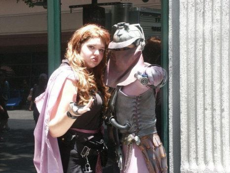 Mara Jade and Zam Wessell by StageDoorGraphix