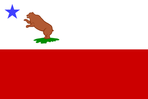Storm Bear Party Flag (1846) by SouthParkTaoist