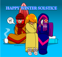 Happy Winter Solstice by Kitschensyngk