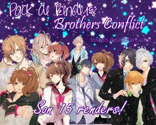 [Pack de render] Brothers Conflict by Inianis