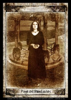 Page of Pentacles by jdybowski