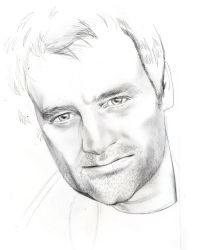 David Hewlett-Rodney McKay WIP by WolfenM