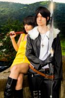FINAL FANTASY VIII || Squall and Selphie #6 by yukisaragi