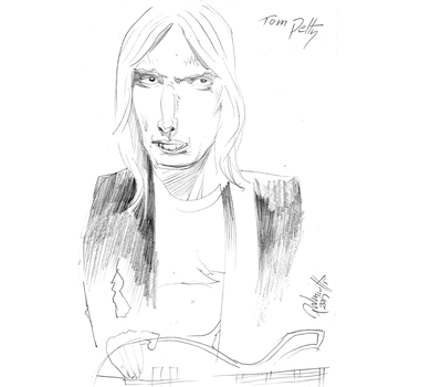 Tom Petty by PeterPalmiotti