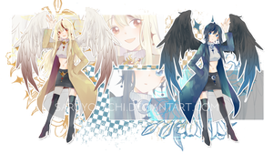 ADOPTABLE AUCTION 04-18 |CLOSED| - Dark n Bright by saruyouichi