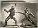 Fencers by Chromamancer