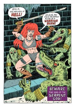 Red Sonja Redraw by Teagle