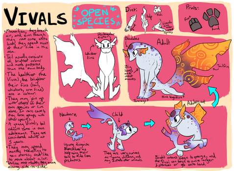 Vivals OPEN Species! by TawnySoup