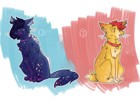 adoptables | 2/2 open by Sierracat7807
