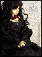 Dollice Lusion - black angel by Lelahel-Clothes