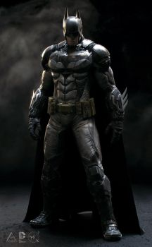 The Dark Knight by SgtHK