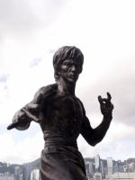 Bruce Lee by saxorrm