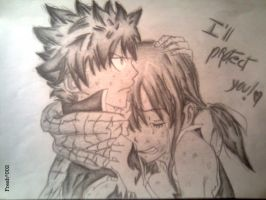 Fairy Tail Movie (Natsu and Lucy) by Fresh002