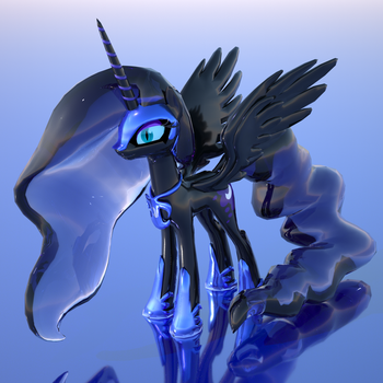 Power of the Night (3D render) by Duskie-06