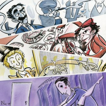The Marx Brothers by Phostex