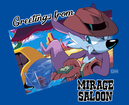 Greetings from Mirage Saloon by Chehaya