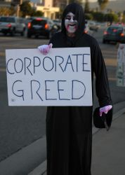 Corporate Greed Has Got To Go by Roderique