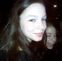Me with Julie in background by illusions-of-beauty