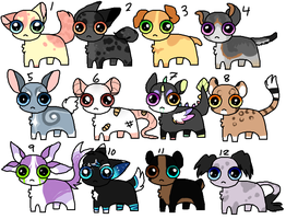 :OPEN: 10 point creatures by ratatouiIIe