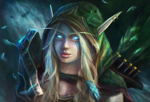 Alleria Windrunner by SUOMAR