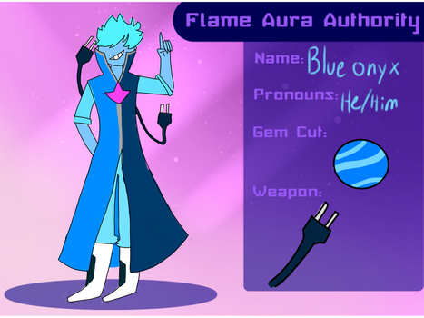Blue onyx application-FAA by Amblygonite
