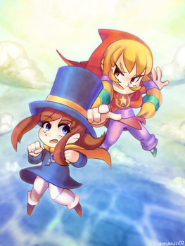 A Hat in Time   Illustration by Level2Select