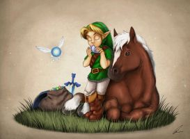 Epona's Song by Quinfu