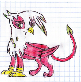 Contest Entry - Gryphon OC by IrkenPainter