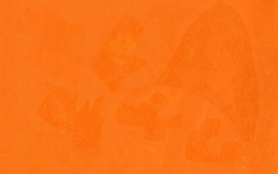 Orange Print Background by Lord-Hayati