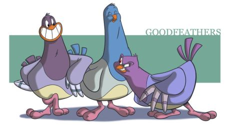 Goodfeathers by Sibsy