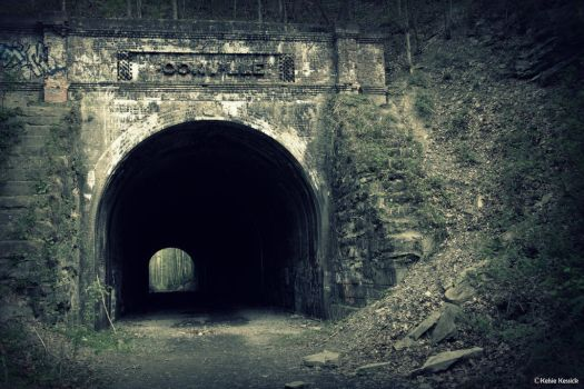 Moonville Train Tunnel by kmkessick